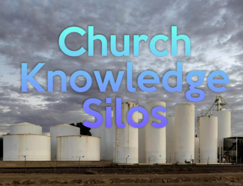 Church Knowledge Silos: Getting The Big Picture On Data