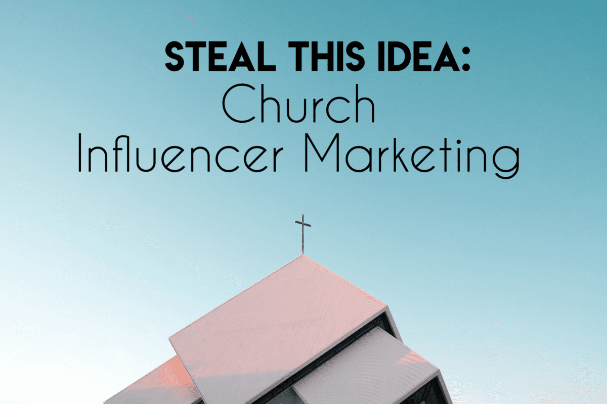 church influencer marketing how to